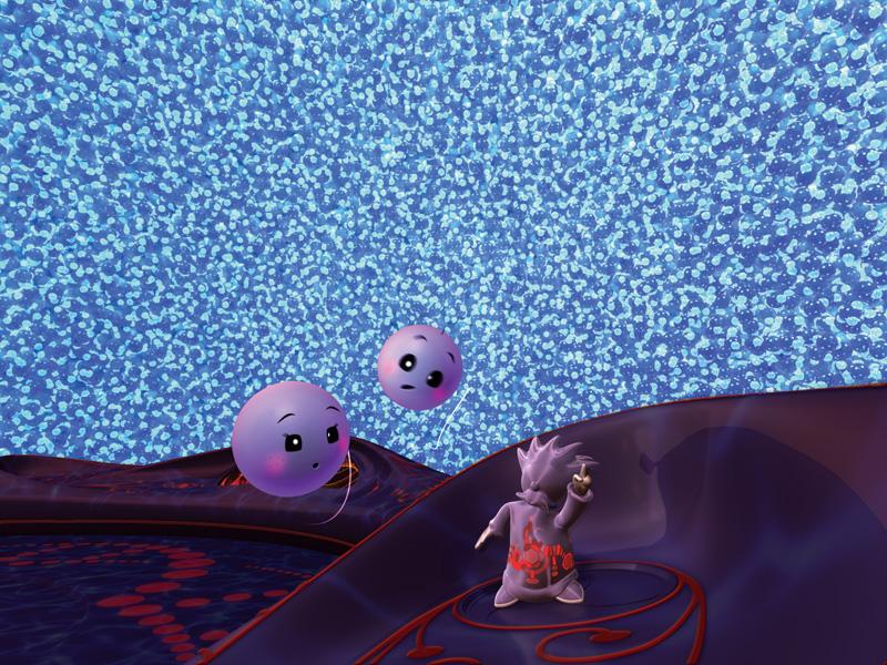 Molecules to the MAX scene 3